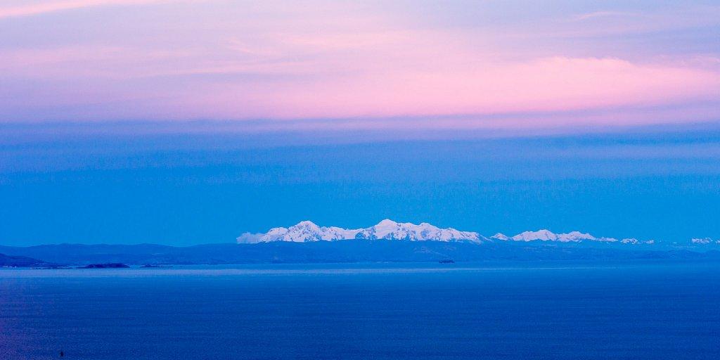 Med ryggen til solnedgangen, Amantani Island